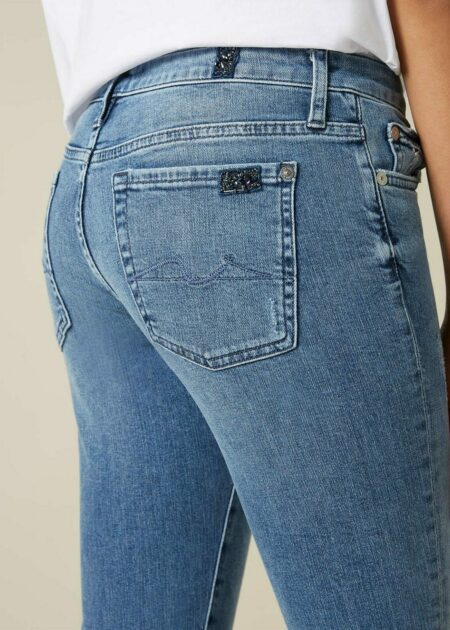 JEANS PYPER CROPPED COUNTDOWN EMBELLISHED