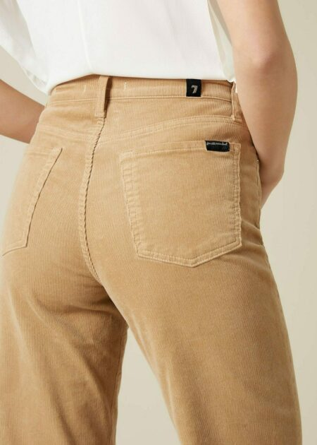 JEANS ALEXA CROPPED VELOURS